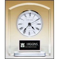 "6"" Glass Clock"